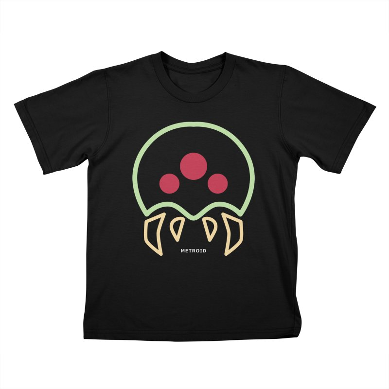 METROID Kids T-Shirt by refritomix