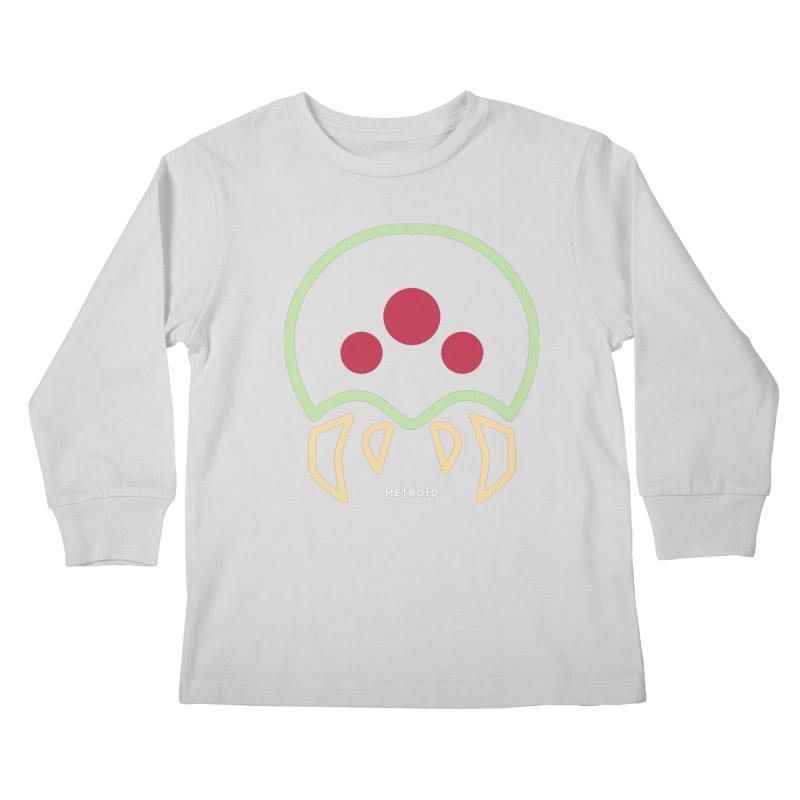METROID Kids Longsleeve T-Shirt by refritomix
