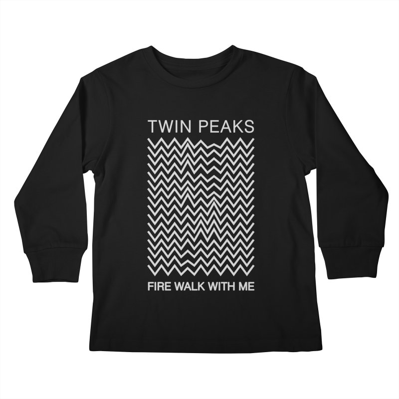 TWIN PEAKS DIVISION Kids Longsleeve T-Shirt by refritomix