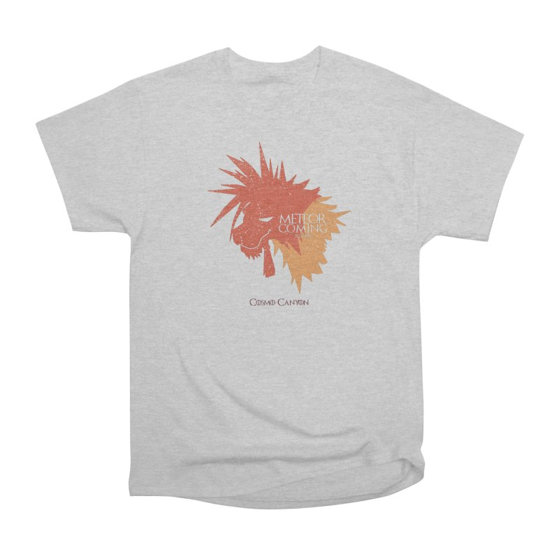 RED XIII METEOR IS COMING Men's Heavyweight T-Shirt by refritomix