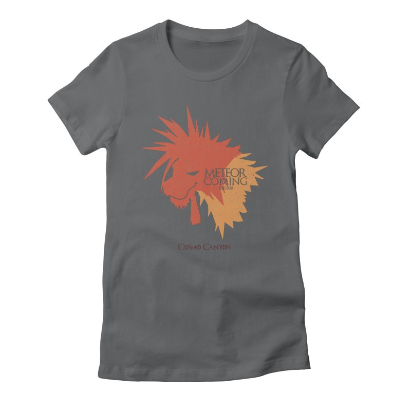 RED XIII METEOR IS COMING Women's Fitted T-Shirt by refritomix