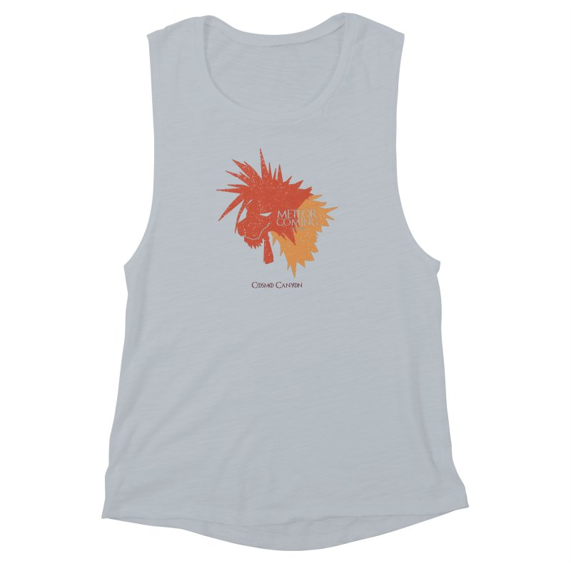 RED XIII METEOR IS COMING Women's Muscle Tank by refritomix