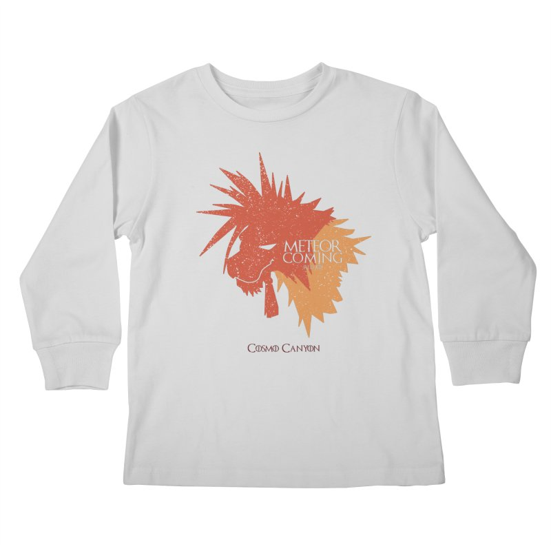 RED XIII METEOR IS COMING Kids Longsleeve T-Shirt by refritomix