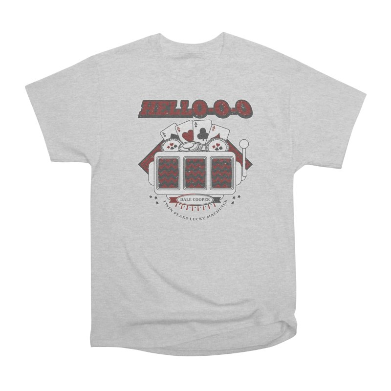 TWIN PEAKS HELLO Men's T-Shirt by refritomix