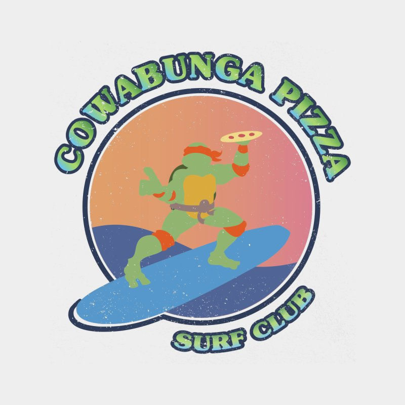 COWABUNGA PIZZA SURF CLUB Women's Tank by refritomix