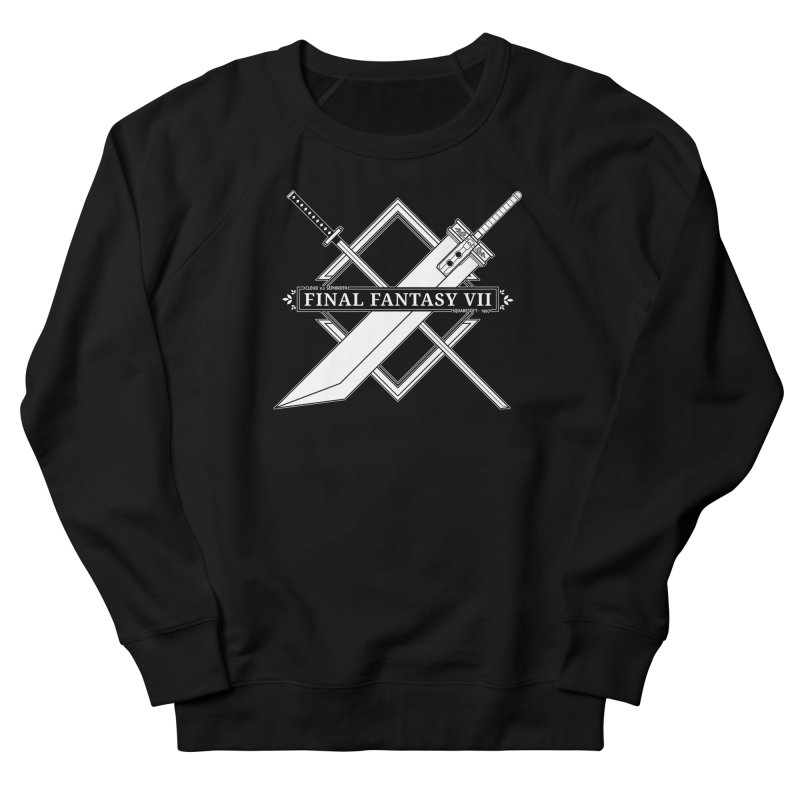 FINAL FANTASY VII SWORDS Women's French Terry Sweatshirt by refritomix