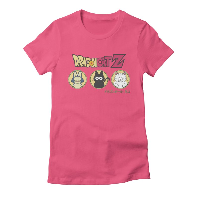 DRAGON CATZ Women's Fitted T-Shirt by refritomix