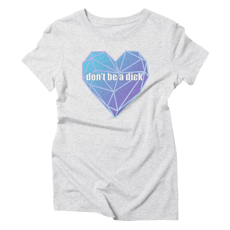 Don't Do It Women's T-Shirt by JD's Artist Shop