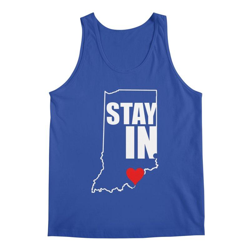 Stay IN Indiana Men's Tank by JD's Artist Shop