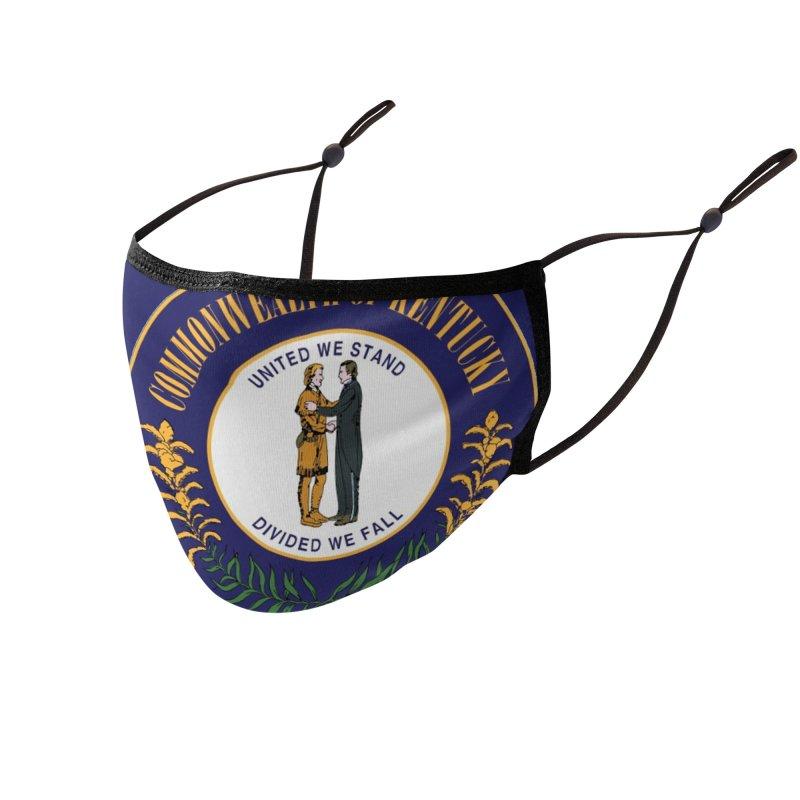 Kentucky Accessories Face Mask by JD's Artist Shop