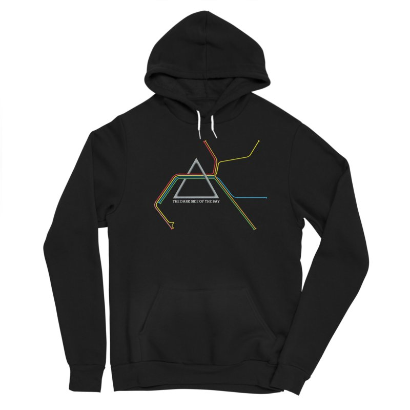 Dark Side of the Bay Women's Pullover Hoody by rego's Artist Shop