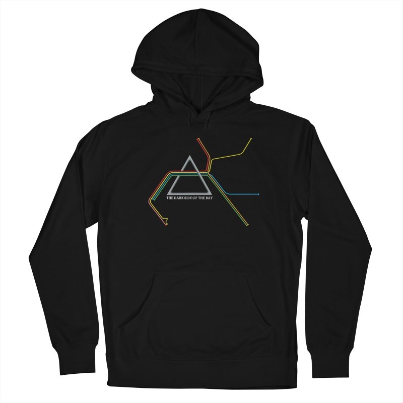 Dark Side of the Bay Men's Pullover Hoody by rego's Artist Shop