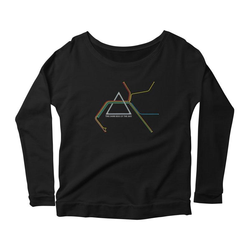 Dark Side of the Bay Women's Longsleeve T-Shirt by rego's Artist Shop