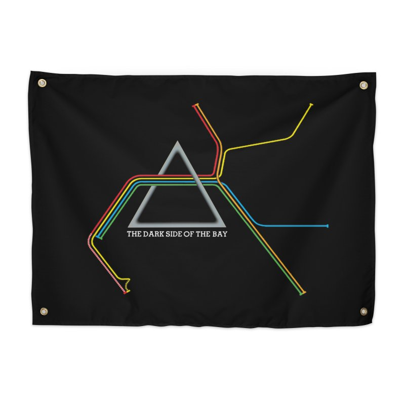 Dark Side of the Bay Home Tapestry by rego's Artist Shop