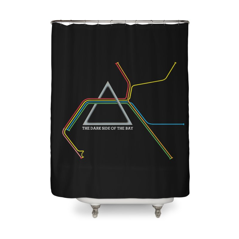 Dark Side of the Bay Home Shower Curtain by rego's Artist Shop