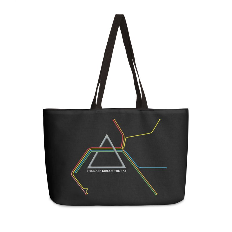 Dark Side of the Bay Accessories Bag by rego's Artist Shop