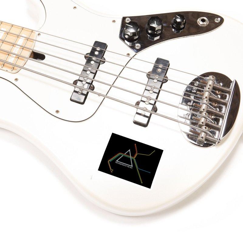 Dark Side of the Bay Accessories Sticker by rego's Artist Shop