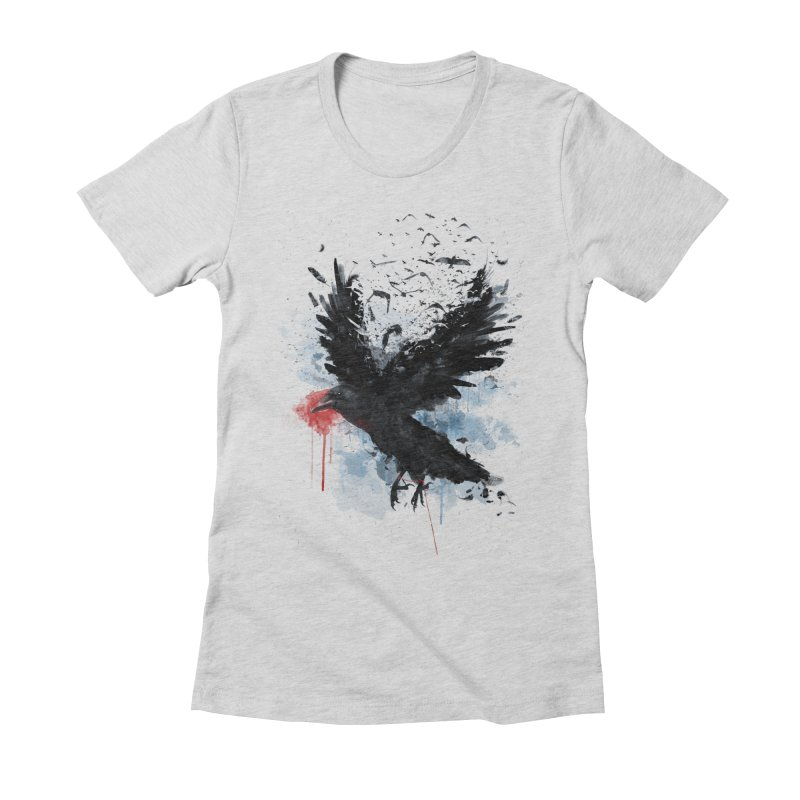 Freedom Women's Fitted T-Shirt by Reina Loca's Artist Shop
