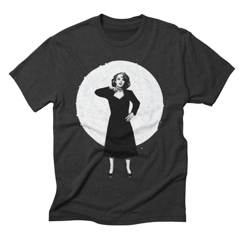 "Edit Piaf ""Tremolo"" Men's Triblend T-shirt by Reina Loca's Artist Shop"