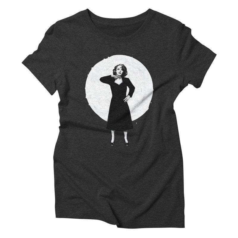 "Edit Piaf ""Tremolo"" Women's Triblend T-Shirt by Reina Loca's Artist Shop"