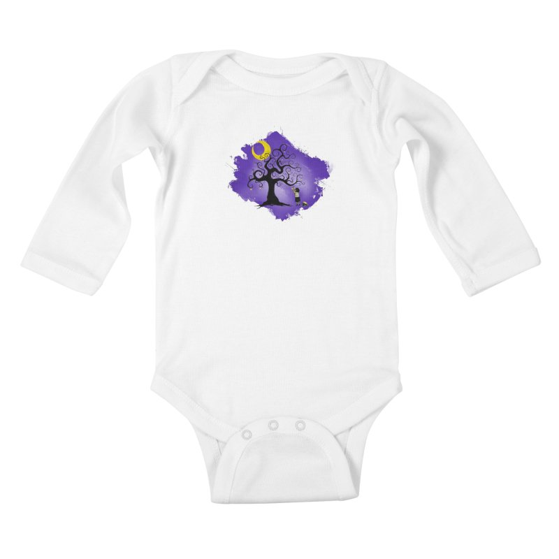 Make Your Own Stars Kids Baby Longsleeve Bodysuit by Reina Loca's Artist Shop