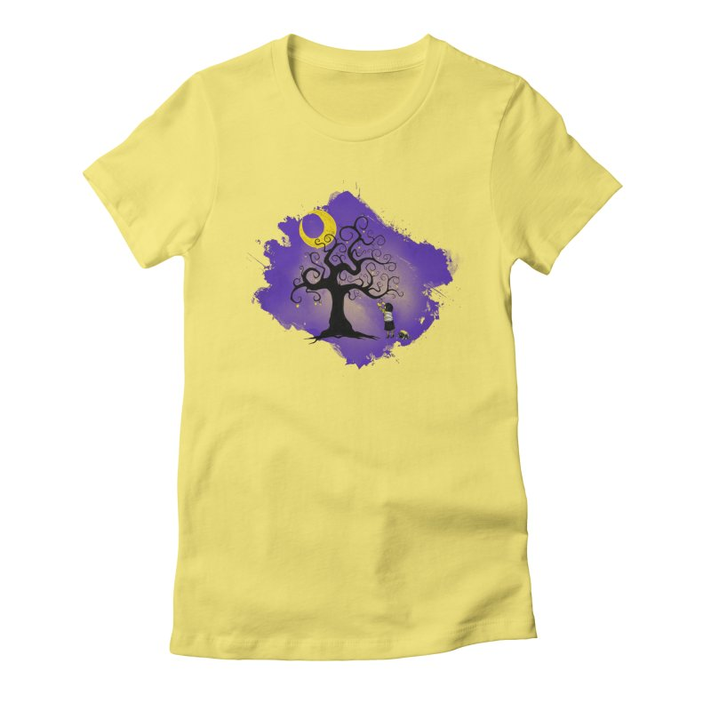 Make Your Own Stars Women's Fitted T-Shirt by Reina Loca's Artist Shop