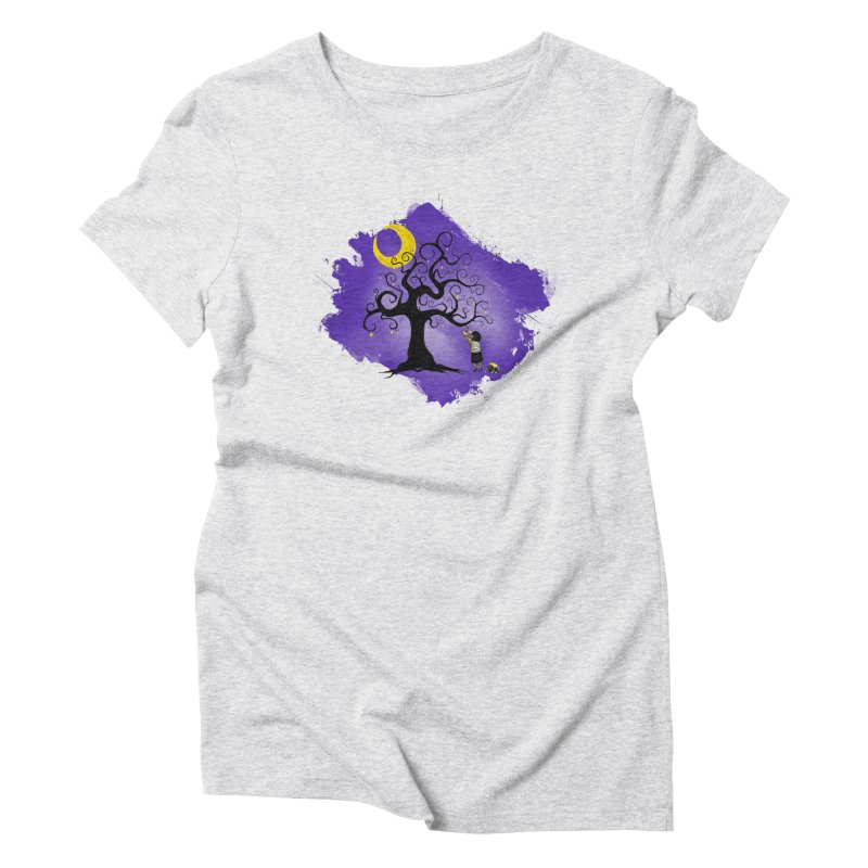 Make Your Own Stars Women's Triblend T-shirt by Reina Loca's Artist Shop