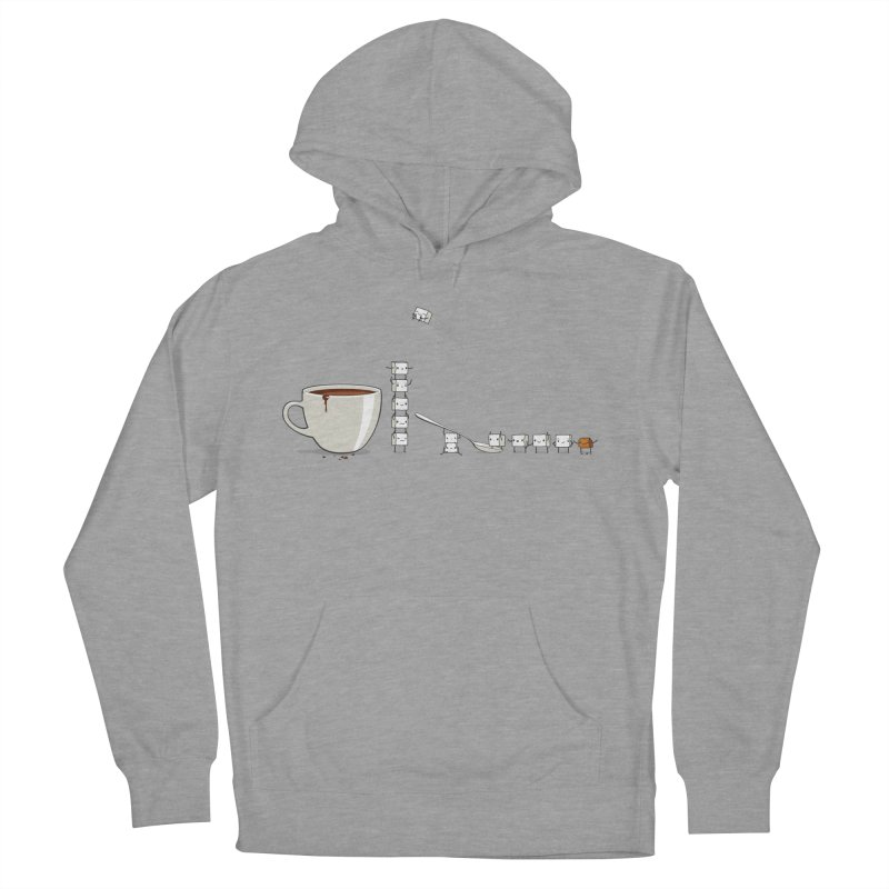 "Sugar Fun ""Coffee Break"" Men's Pullover Hoody by Reina Loca's Artist Shop"