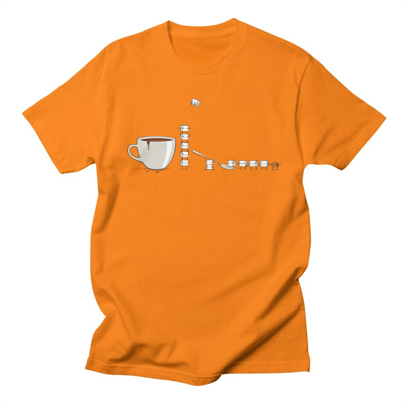 "Sugar Fun ""Coffee Break"" Men's T-shirt by Reina Loca's Artist Shop"