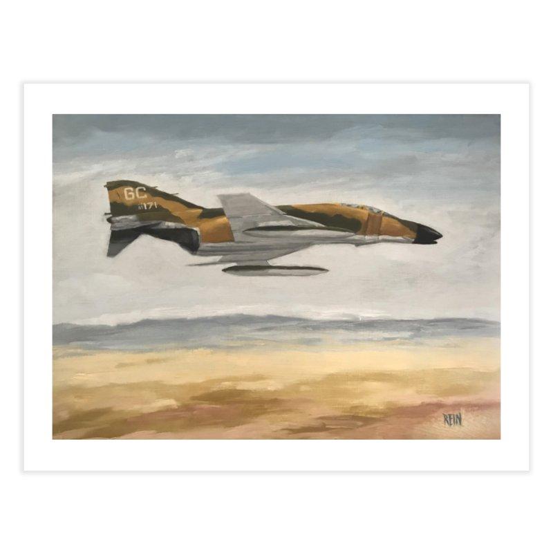 F-4C Phantom Home Fine Art Print by Rein Design's Shop