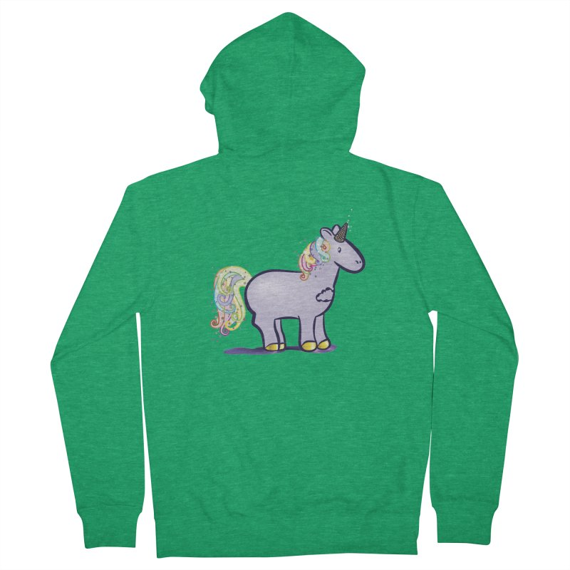 Super-Magical-Amazing-Dream-Waffle-Cone Men's Zip-Up Hoody by Relyea Arts's Artist Shop