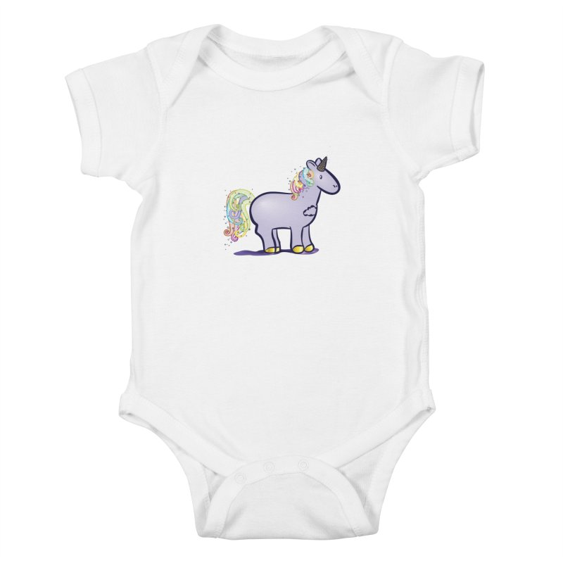 Super-Magical-Amazing-Dream-Waffle-Cone Kids Baby Bodysuit by Relyea Arts's Artist Shop