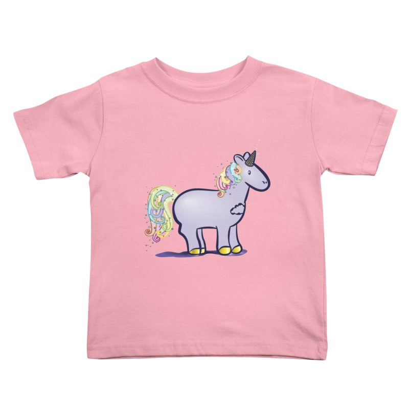 Super-Magical-Amazing-Dream-Waffle-Cone Kids Toddler T-Shirt by Relyea Arts's Artist Shop