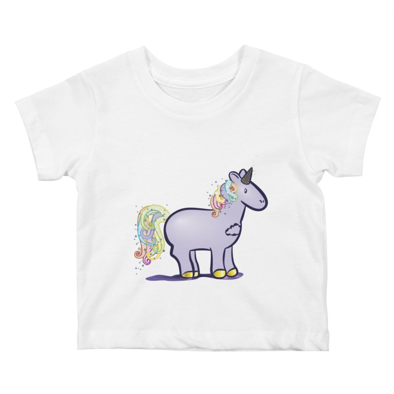 Super-Magical-Amazing-Dream-Waffle-Cone Kids Baby T-Shirt by Relyea Arts's Artist Shop