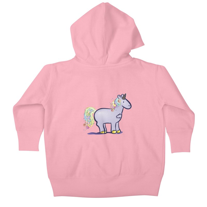 Super-Magical-Amazing-Dream-Waffle-Cone Kids Baby Zip-Up Hoody by Relyea Arts's Artist Shop