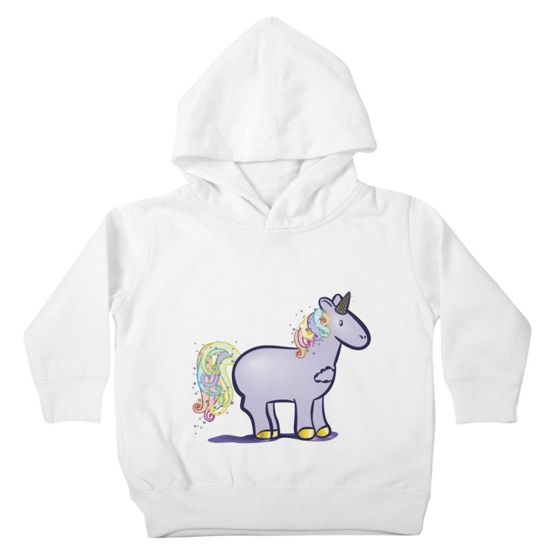 Super-Magical-Amazing-Dream-Waffle-Cone Kids Toddler Pullover Hoody by Relyea Arts's Artist Shop