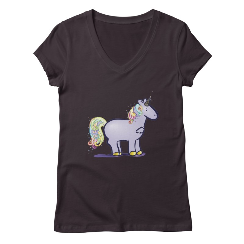 Super-Magical-Amazing-Dream-Waffle-Cone Women's V-Neck by Relyea Arts's Artist Shop