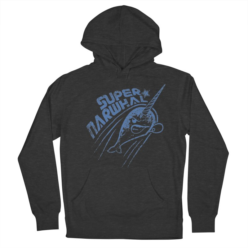 Super Narwhal Women's Pullover Hoody by Relyea Arts's Artist Shop