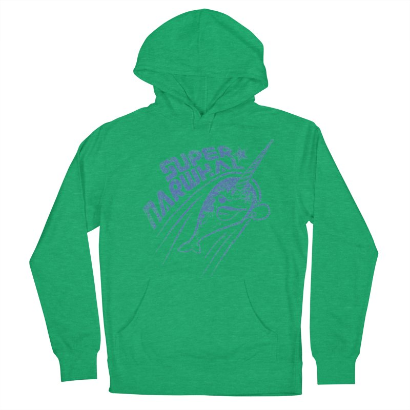Super Narwhal Men's Pullover Hoody by Relyea Arts's Artist Shop