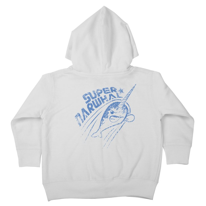 Super Narwhal Kids Toddler Zip-Up Hoody by Relyea Arts's Artist Shop