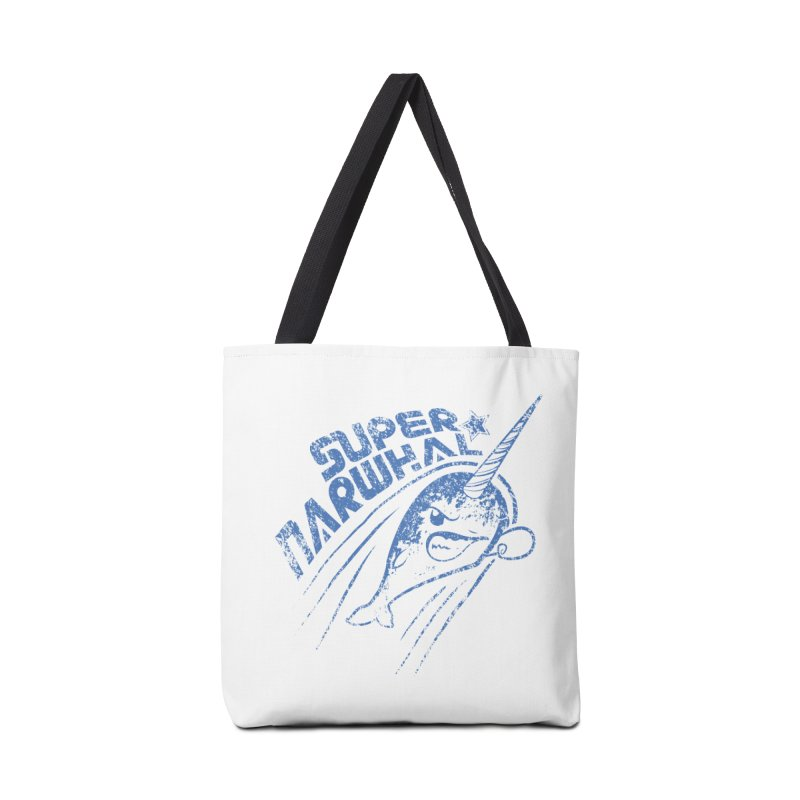 Super Narwhal Accessories Bag by Relyea Arts's Artist Shop