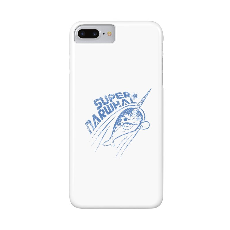 Super Narwhal Accessories Phone Case by Relyea Arts's Artist Shop