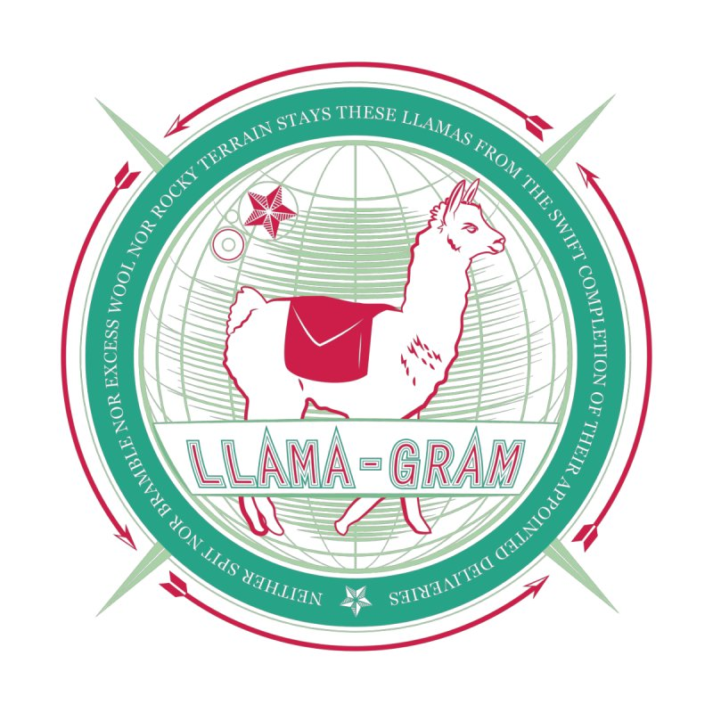 Llama-Gram   by Relyea Arts's Artist Shop