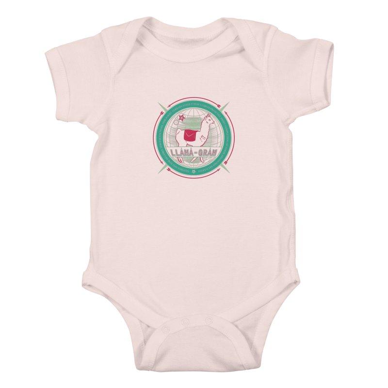 Llama-Gram Kids Baby Bodysuit by Relyea Arts's Artist Shop