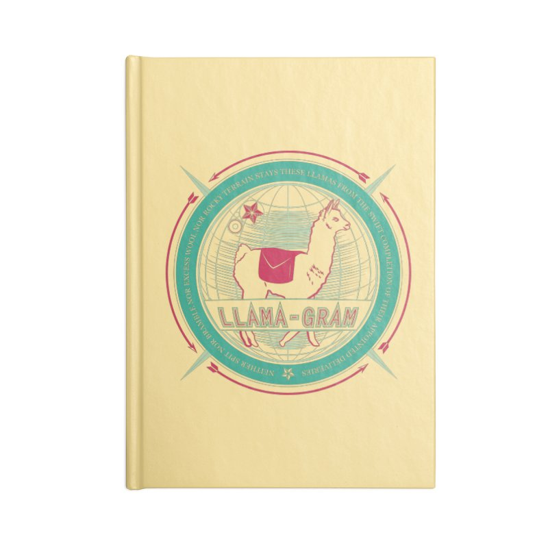 Llama-Gram Accessories Notebook by Relyea Arts's Artist Shop