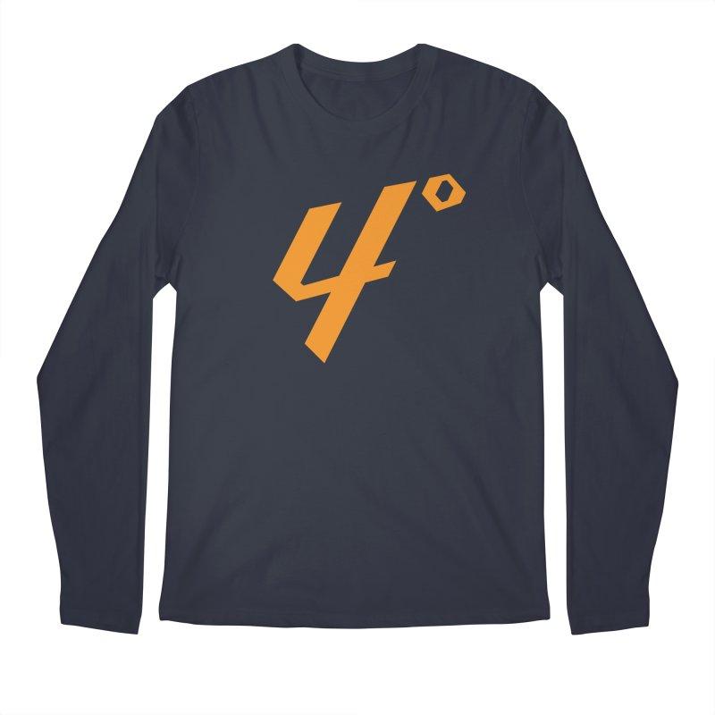 I have four degrees in Men's Regular Longsleeve T-Shirt Midnight by Renaldo Gouws
