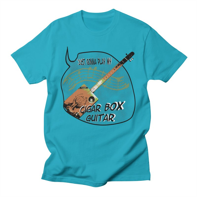Just Gonna Play Men's T-Shirt by RenBert Designs Shirt Shop