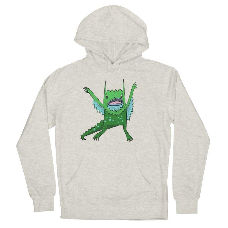 Little Monster Women's Pullover Hoody by Renee Leigh Stephenson Artist Shop