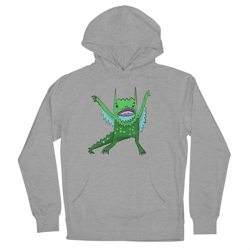 Little Monster Men's Pullover Hoody by Renee Leigh Stephenson Artist Shop