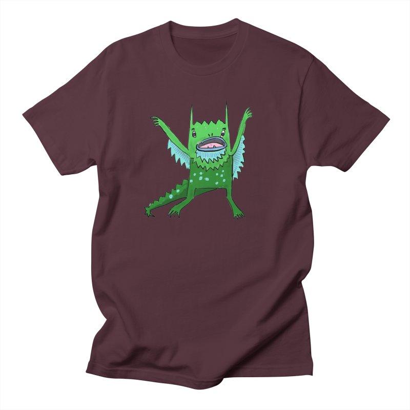 Little Monster Women's Unisex T-Shirt by Renee Leigh Stephenson Artist Shop